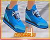 ! Retro Blue Sneakers