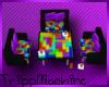 Tetris chair and table