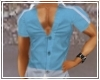 Muscled Shirt*Azzurro*