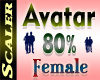 Avatar Resizer 80%