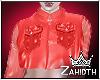Cherry Silk Jacket