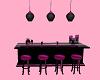 pink pool bar