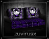 sofa 10 pose emo purple