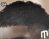 Curly Taper Fade - Black