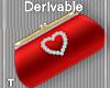 DEV - Red Heart Purse