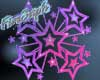 [F] stars sticker