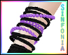 Black Purple Bracelet