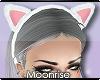 m| kitty headband white