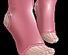 B! pink pvc socks male