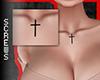 Chest Tattoo Cross