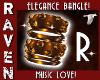 R MUSIC BANGLE BRACELET!