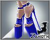 Blue Velvet High Heels2