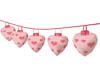 Valentine Paper Lanterns
