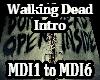 Metal Walking Dead Intro