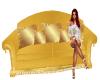 BL Gold Antique Sofa