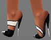 H/Black & White Shoes
