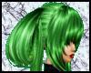Amazing green hair