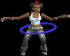 Blue Hupla Hoop
