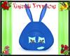 Kids 40% Bunny Tent Blue