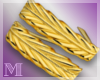AM:: Gold Leaf Bands L