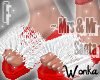 W° Mrs Santa .Slippers
