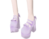 Purple lollita shoes