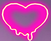 Melted Heart Neon