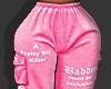 ღ Pink Bad Joggers
