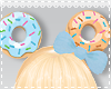 [M0] Head Donut Blue