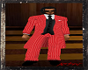 RED SUIT PANTS