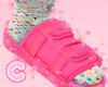 💕 LV Pink Slides