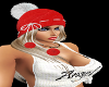 *cp*Red/White Hat + Hair