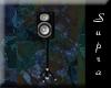 *S* Black/silver speaker