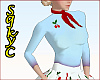 50s Blue Sweater cherrie