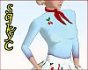 50s Blue Sweater cherrie
