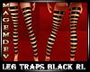 LEG TRAPS BLACK RL