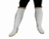[CI] WHite Leather Boots