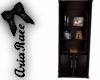 Winter Cabin Book Shelf