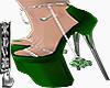 Shamrock Charm Sandals