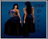 BBW Rosa Blue gown