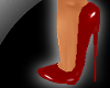 !! 7 Inch Red Pvc Pumps