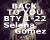 [T] Back to you ♫