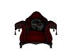 Dark gothic single Chair