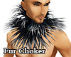 Fur Choker Male