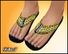 D- Sunflower Sandals