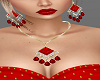 H/Juliet Red Jewlery Set
