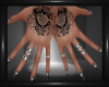 Goth Nails & Tats 2