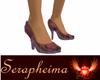 amethyst glass slippers