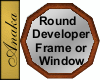 AT- Picture Frame Round