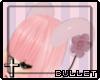 [B] .Pink horns.